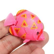 10pcs lifelike plastic artificial moving floating fishes ornament