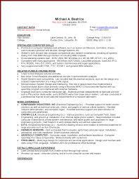 Part Resume Template Fascinating Part Resume Template On Resume Template