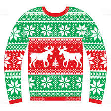 ugly sweater border clipart no background collection