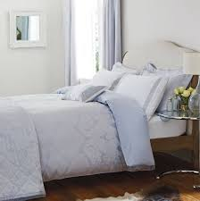image of light blue duvet cover queen