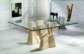 Contemporary Dining Table Base Glamorous Glass Dining Table Pedestal Base Beautiful Mesmerizing