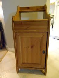 furniture oak wood ikea nightstand with simple drawers on cozy