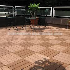easy install wpc wood plastic composite patio deck tile buy