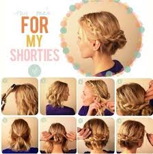 cute hairstyles for short hair quick quick and simple hairstyles for short hair