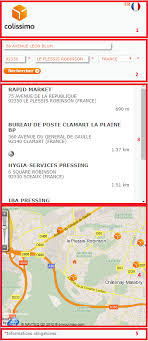 bureau de poste chatenay malabry widget point retrait