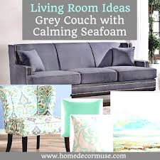grey and yellow home decor grey couch with calming seafoam accents sofa living room yellow home