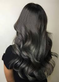 how to blend in gray roots of black hair with highlig 100 dark hair colors black brown red dark blonde shades