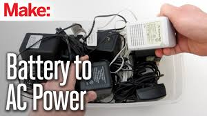 diy hacks how to s convert a battery powered device to ac power