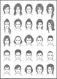men u0027s hair set 12 different hairstyles for boys character