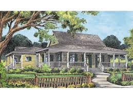 square house plans with wrap around porch cville country acadian home plan 047d 0170 house plans and more