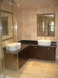 bathroom ideas 2014 a large frameless glass walkin shower with bath and adatto