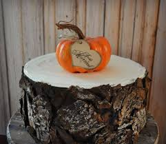 fall wedding pumpkin gourd thanksgiving wedding cake topper just