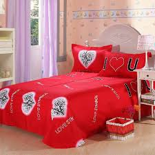 Cute Comforter Sets Queen Bed Covers For Girls Picture More Detailed Picture About Red