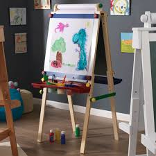 kidkraft artist easel with paper roll primary walmart com