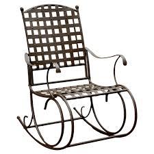 Metal Rocking Patio Chairs Metal Patio Rocking Chairs You Ll Wayfair
