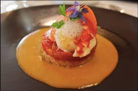 recette de cuisine de chef étoilé le médaillon de homard sauce thaï par julien binz cuisine 料理