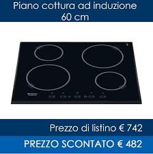 offerta piano cottura induzione gallery of piano cottura ad induzione ariston hotpoint kix 644 be