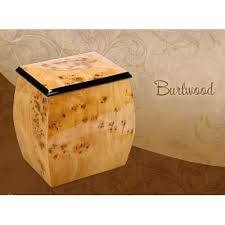 wooden urns for ashes wood cremation urns burl glossy satin finish