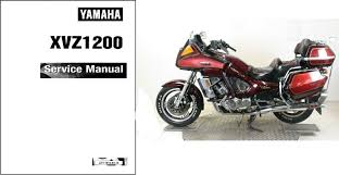 1983 1993 yamaha xvz1200 venture royale service manual on a cd
