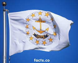 White Flag Meaning Rhode Island Flag Colors Rhode Island Flag Meaning