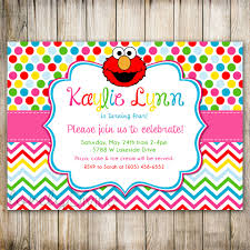 free rainbow birthday invitations elmo rainbow birthday invitation sesame street dots 1st