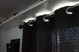 Curtain Rod Instructions How To Build Industrial Style Curtain Rods Pipe Curtain Rods