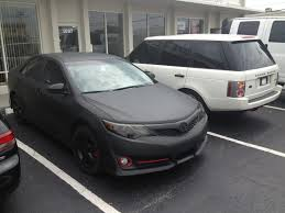 all black toyota camry 2012 toyota camry matte black wrap with black rims yelp