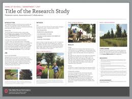 research poster templates the cfaes brand