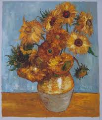 vincent van gogh oil painting the sunflowers 2
