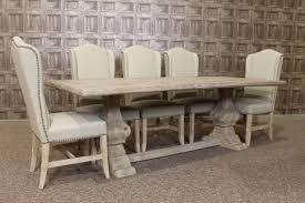 Limed Oak Dining Tables Decoration Art White Wash Dining Room Set Whitewash Dining Table