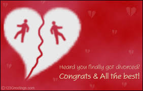 congrats on your divorce card congrats on your divorce free on other occasions ecards greeting