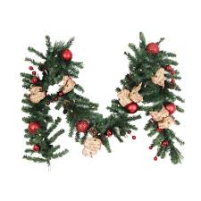 How To Decorate A Swag For Christmas Battery Christmas Wreaths U0026 Garland Christmas Decorations