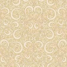abstracta de color beige estampado de flores florecen remolino de