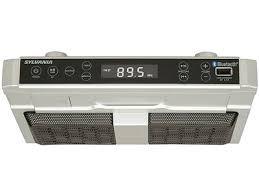 radio de cuisine sylvania bluetooth cabinet radio