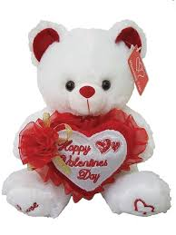 flower bow white holding happy s day embroidered heart with