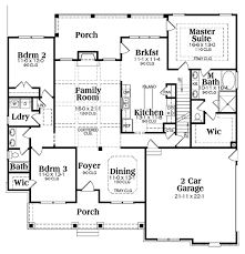 Ranch Style Bungalow Simple Ranch Style Home Floor Plans