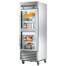 glass front refrigerator residential stylish design of glass door