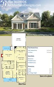 Narrow Cottage Plans Baby Nursery Narrow Lot Cottage House Plans Best Narrow House