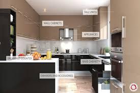 kitchen cabinet design names kitchens 101 components of a modular kitchen