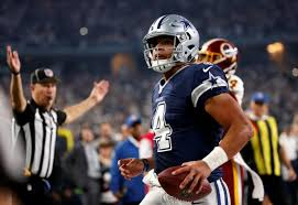 victory washington makes dallas cowboys top team in nfc ny