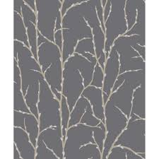 rasch willow tree wallpaper cream u0026 charcoal