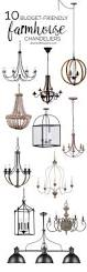 Dining Chandelier Lighting Brilliant Farmhouse Chandelier Lighting 1000 Ideas About Farmhouse