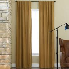 Thermal Back Curtains Jcpenney Home Twill Thermal Rod Pocket Back Tab Curtain Panel