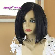 hairstyles for straight afro hair chic blunt cut short bob straight hairstyle wig synthetic black hair