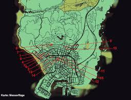 Gta World Map Grand Theft Auto 5 Karte Kunstflug Messerflüge U2013 Gamona De