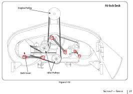 how to change upper drive belt mowing deck on mtd mower