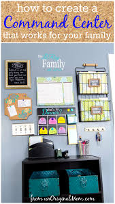 Family Charging Station Ideas by How To Create A Command Center That Works For Your Family