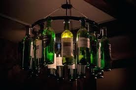 Wine Bottle Light Fixtures Bottle Pendant Lights Retro Art Personality Led Pendant Lights