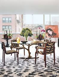 Celebrity Home Design Pictures Celebrity Home Diane Von Furstenberg U0027s Manhattan Penthouse