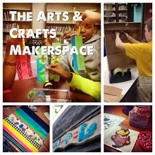 the arts and crafts makerspace renovated learning